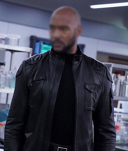 Alphonso Mackenzie Agents of Shield Leather Jacket