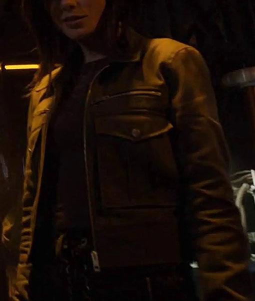 Snowflake Agents of Shield Jacket