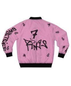 Ariana Grande 7 Rings Bomber Jacket