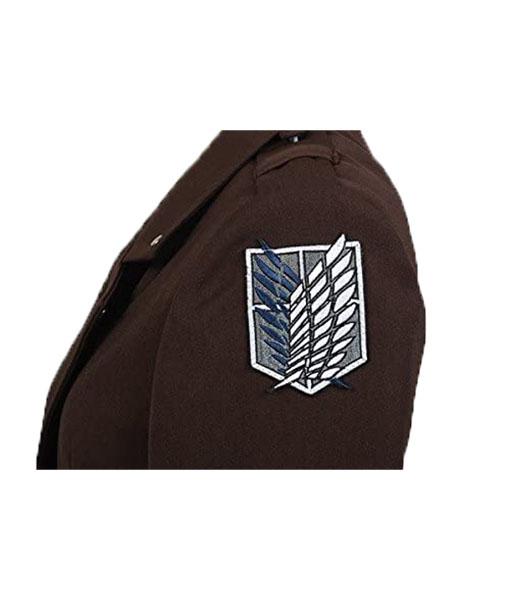 Eren Jaeger Attack on Titan Coat