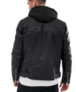Daniel Zovatto Heavy Leather Jacket