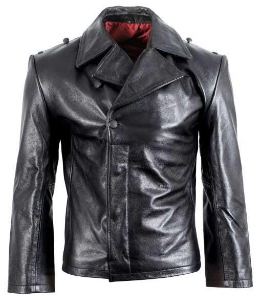 German Panzer Leather Jacket