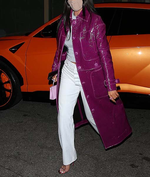 Kylie Jenner Trench Coat