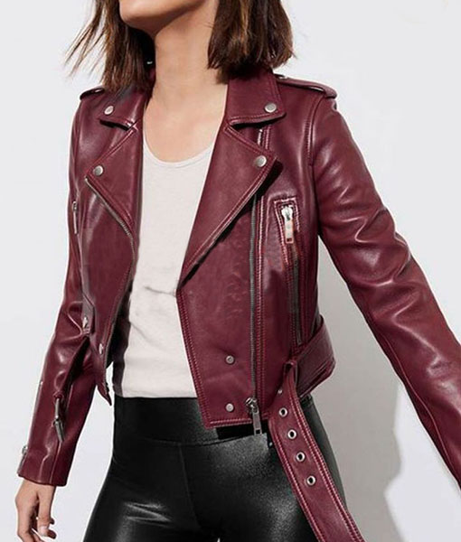 Sydney Burnett L.A.'s Finest S02 Biker Jacket
