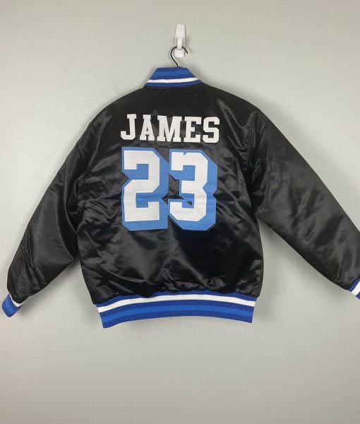 Men's James 23 Crenshaw Black Jacket