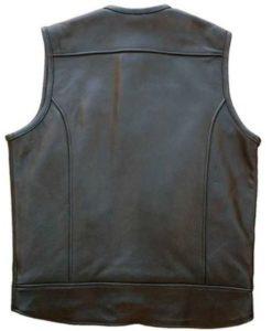 Men's MC Club Leather Vest