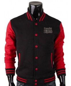 Men's Suicide Squad Varsity Jacket