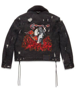 Michael B. Jordan Naruto Denim Jacket