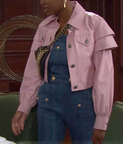 Paris Buckingham The Bold and the Beautiful Pink Jacket