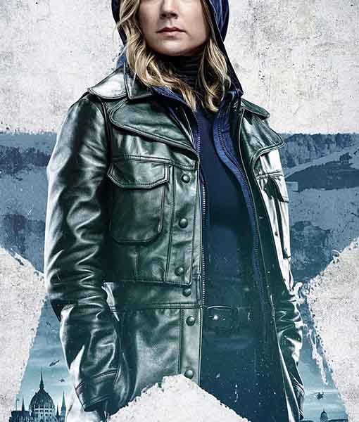 Sharon Carter The Falcon and the Winter Soldier Jacket