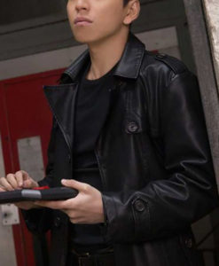 Zhao Feng The Rookies Leather Coat