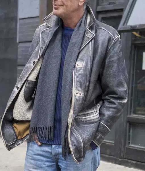 Anthony Bourdain Leather Jacket