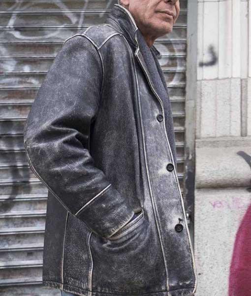 Anthony Bourdain Leather Jacket