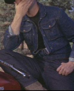 Tom Laughlin Billy Jack Denim Jacket