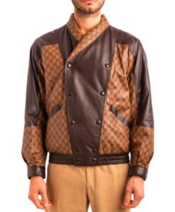 Dapper Dan Leather Jacket