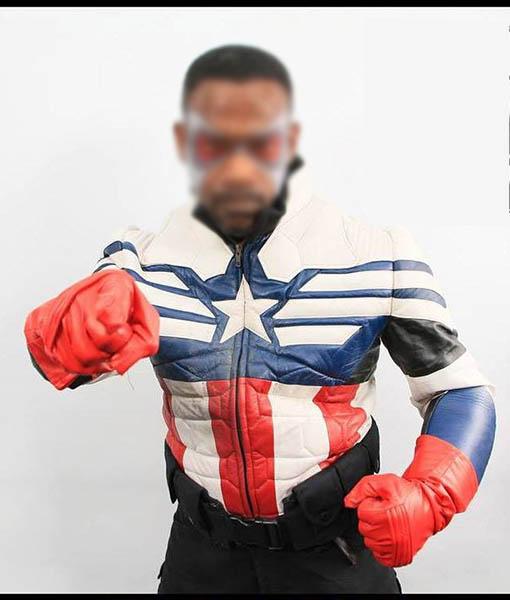 Falcon's Captain America Jacket
