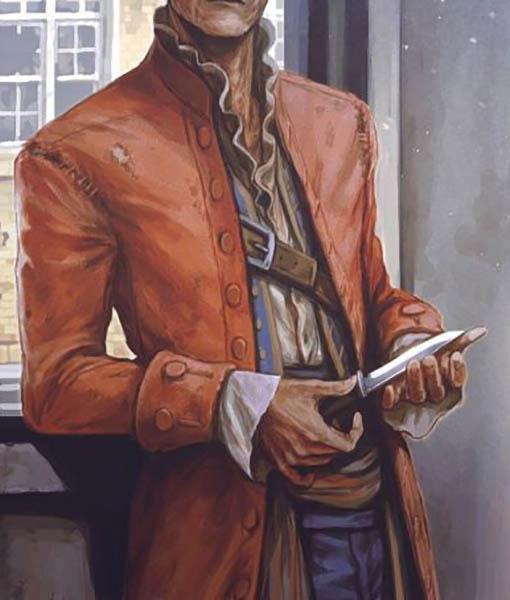 John Hancock Fallout 4 Leather Coat