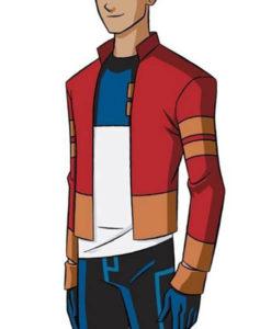 Daryl Sabara Generator Rex Stripped Jacket