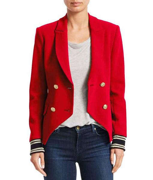 Ana Torres Grown-ish Red Blazer