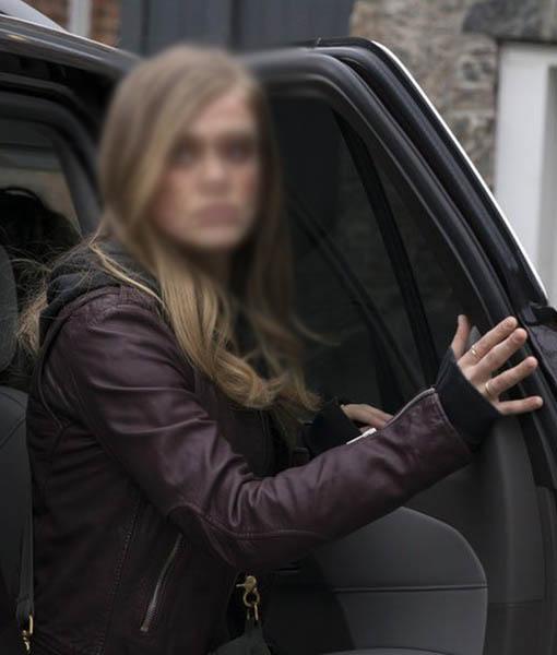 Michaela Stone Manifest Leather Jacket