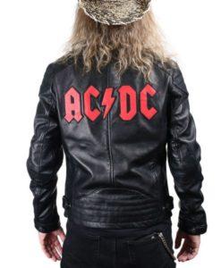 ACDC Biker Leather Jacket