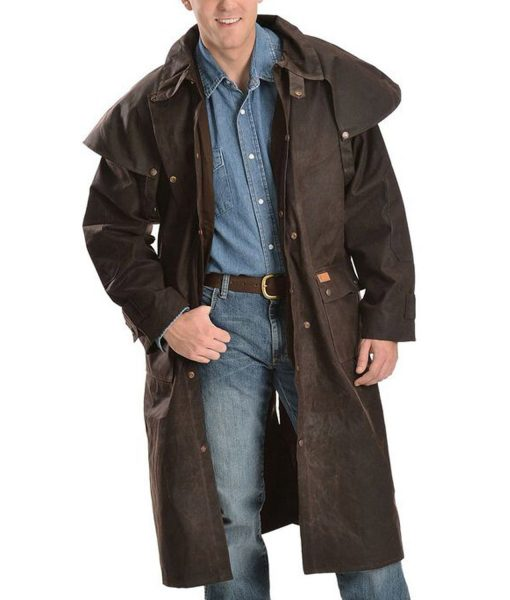 Cowboy Low Ride Duster Coat