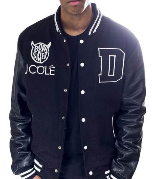 Dreamville Born Sinner J Cole Jacket
