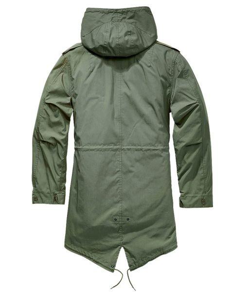 M51 Green Hooded Coat