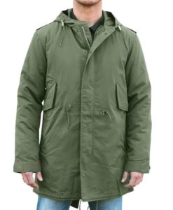 M51 Green Hooded Coat