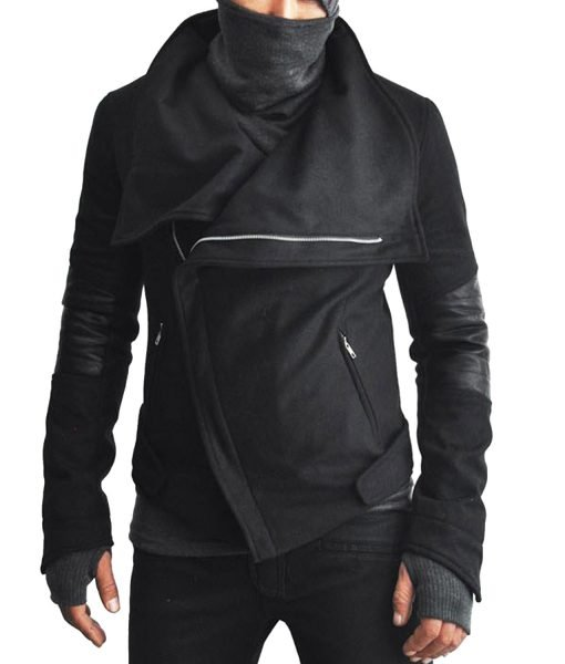 Ninja High Neck Wool Jacket