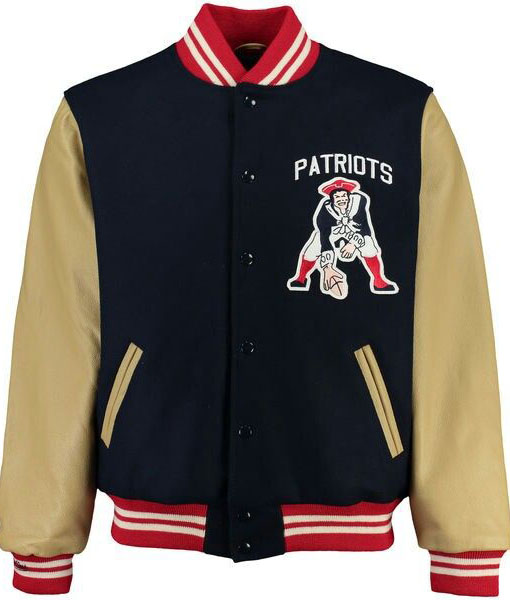 Patriots Varsity Letterman Jacket