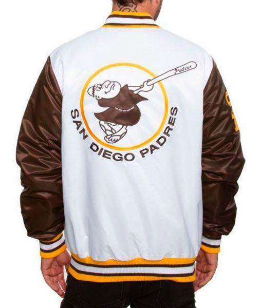 San Diego Padres Varsity Jacket