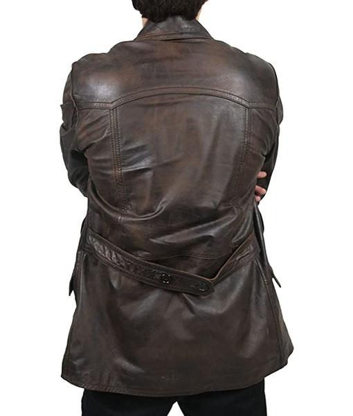 Ninth Doctor Vintage Brown Coat