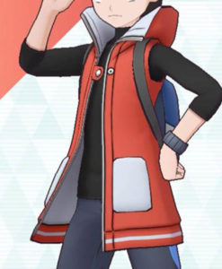 Pokemon Red Masters Leather Vest