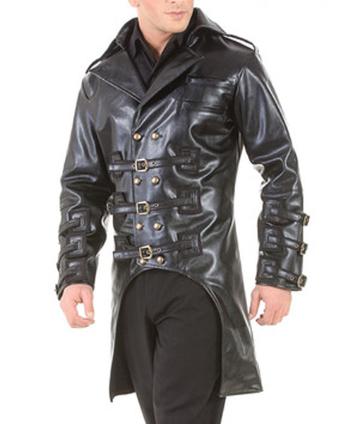 Post Apocalyptic Steampunk Punk Trench Coat