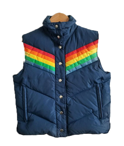 Michael Kelso That 70s Show Puffer Vest