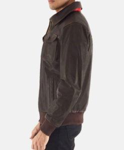 Aaron Brown Cafe Racer Jacket