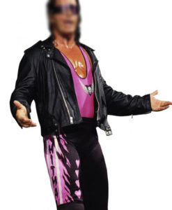 Bret Hart Foundation Leather Jacket