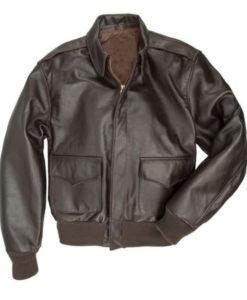Joe Biden A2 Brown Leather Jacket