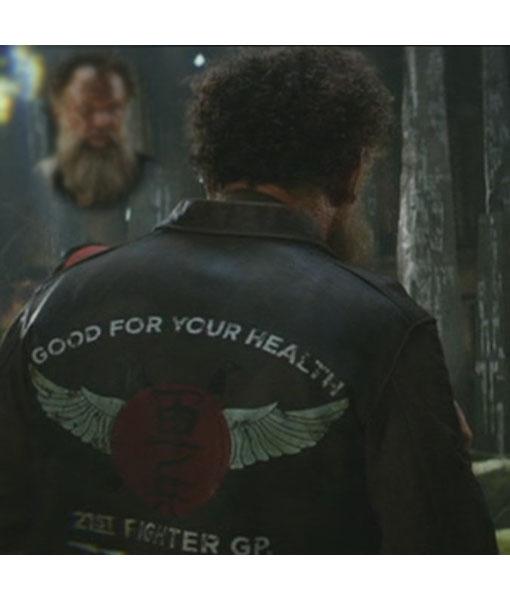 Hank Marlow Kong Skull Island 21st Fighter GP Jacket