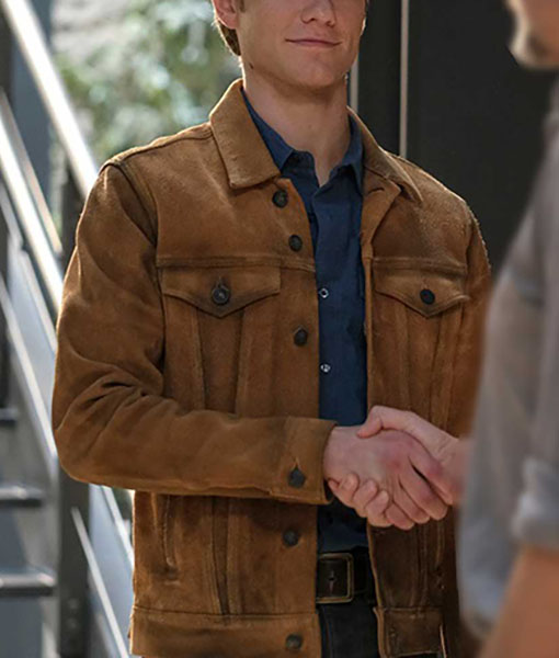 Angus MacGyver S05 Leather Jacket