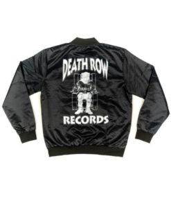 Death Row Records Black Jacket