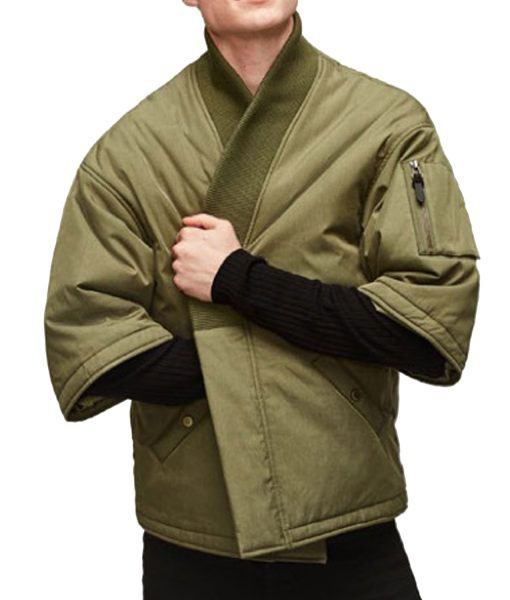 Kimono Olive Green Jacket