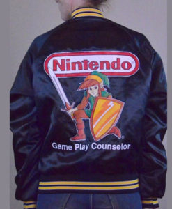 Nintendo Game Play Counselor Bomber Jacket