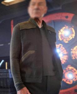 Jean-Luc Picard Star Trek Picard Black Vest