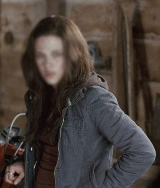 Bella Swan The Twilight Saga Eclipse Grey Jacket