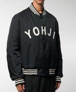 Y3 Logo Varsity Jacket