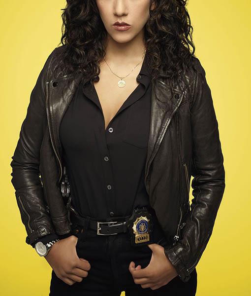 Detective Rosa Diaz Brooklyn Nine Nine Leather Jacket