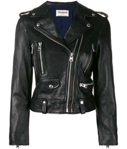 Callista How I Became a Super Hero Leather Jacket