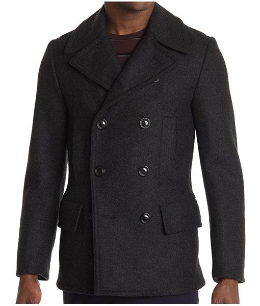 Domingo Double Breasted Coat